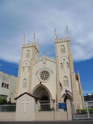 Church of St. Francis Xavier. Francis Xavier brachte unter anderem das Christentum nach Japan.