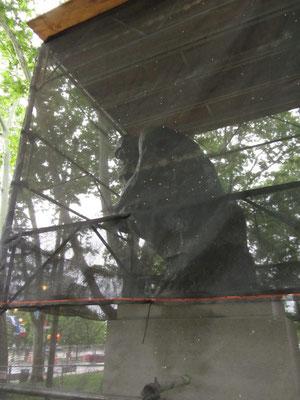 "Rodins ""Der Denker"" vor dem Rodin-Museum."
