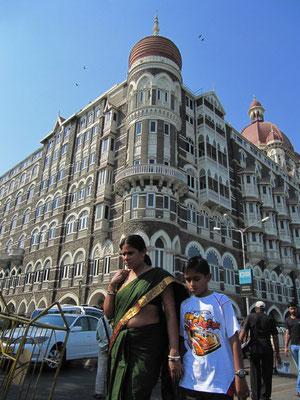 Das Taj, wie es gerne abgekürzt wird.