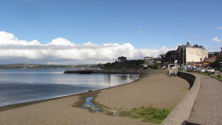Am Ufer des Llanquihue-Sees.