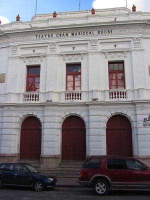 Teatro Gran Mariscal Sucre.