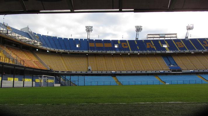 Hier feierte Maradonna seine ersten Erfolge. Boca ist auch zu großem Teil Maradonna.