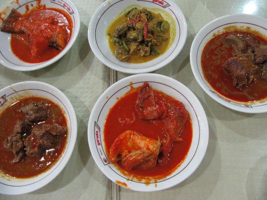 Makanan Padang.