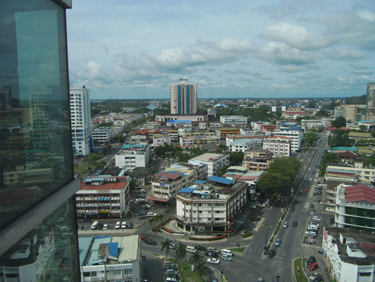 Blick aus dem Tu Lan Plaza.