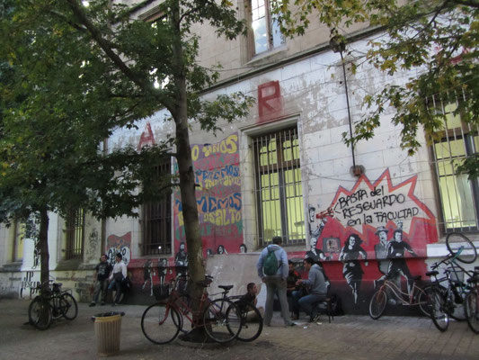 Studenten, die größte Hoffnung in eine bessere Zukunft. Auch in Argentinien.