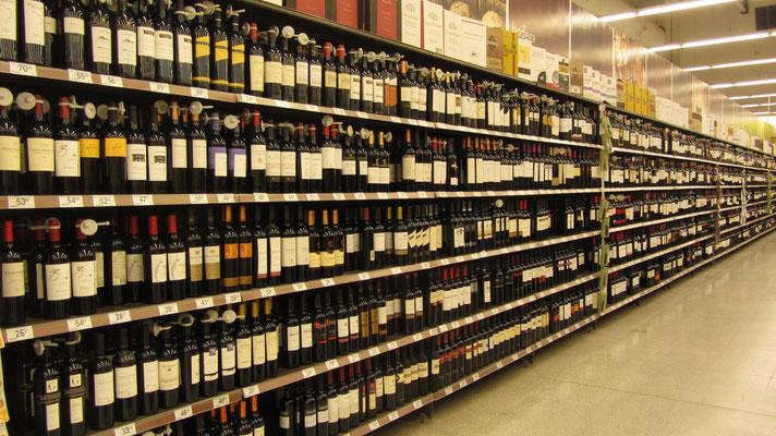 Mendoza ist Wein und den gibt's reichlich.