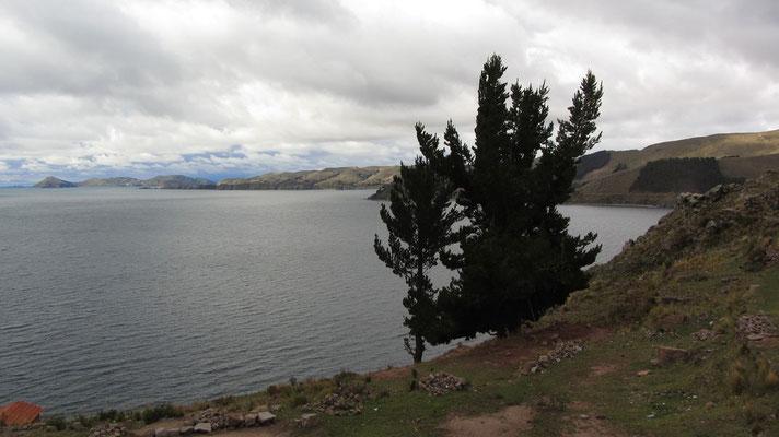 Der Titicaca-See ist mit einer Fläche von 8.288 Quadratkilometern nach dem Maracaibo-See Südamerikas zweitgrößter See.