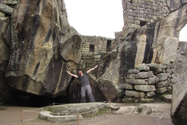 Der Kondortempel hat seinen Namen von der flügelähnlichen Strruktur der Felsen.