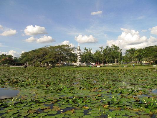 Der Gu-Tian-Garten.