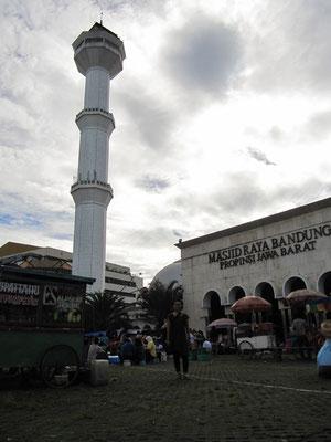 Die Agung-Moschee.