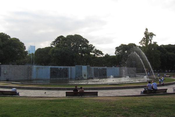 Der Plaza Independencia im Zentrum der Stadt.