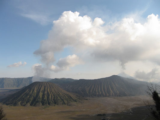 Vulkanlandschaft.
