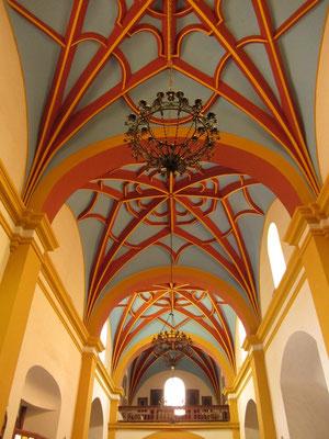 Die Decke der Kathedrale.