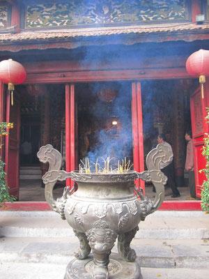 Ngoc Son (Jadeberg) Tempel.