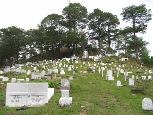 Sagadas Friedhof.