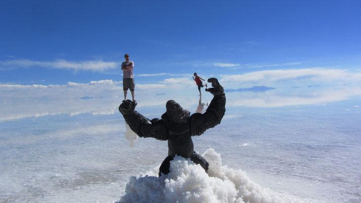 King Kongs Freude.