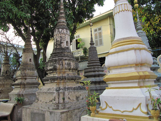 Stupas. (Wat Ounalom)