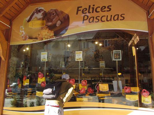 Bariloche ist in ganz Argentinien bekannt für seine Schokolade.