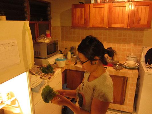 In der Küche unseres Gastgebers Jorge.
