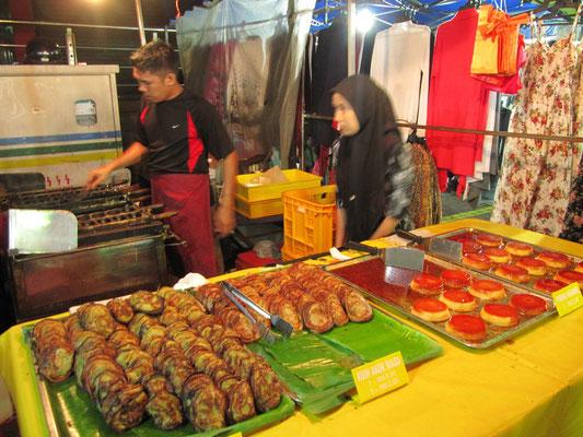 Malayische Süßigkeiten & Pudding.