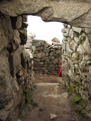 Inka-Ruinen.