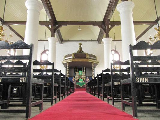 In der Sion-Kirche.