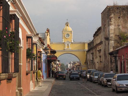 Antiguas berühmtester Torbogen.