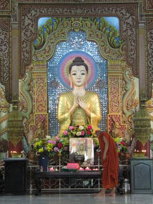 Im Dhammikarama Burmese Buddhist Temple.
