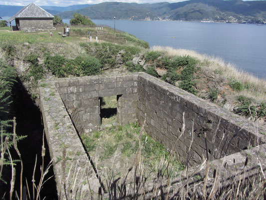 Die Festung Niebla diente den spanischen Kolonialherren zur Verteidung.