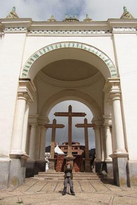 Die Kathedrale von Copacabana.
