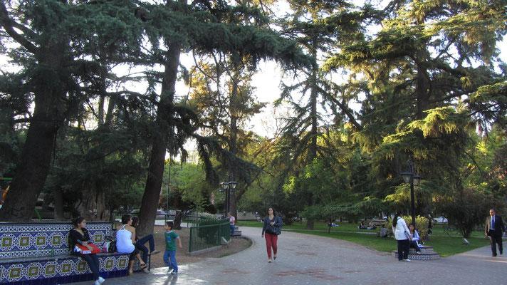 Der Plaza Espana bezeugt die große Verbundenheit zu Spanien.