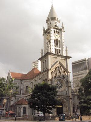 Märchenkirche in der Innenstadt.