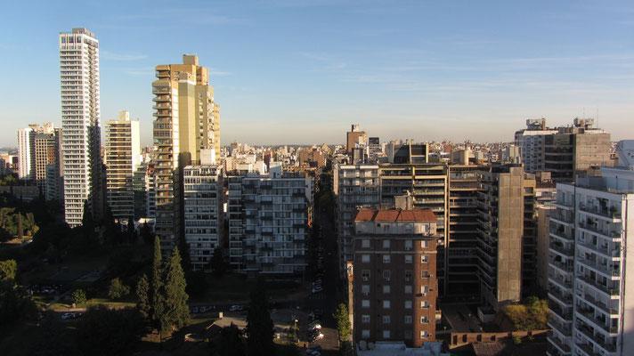 Blick über die Dächer der Stadt.
