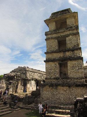 Der Turm des Palastes.