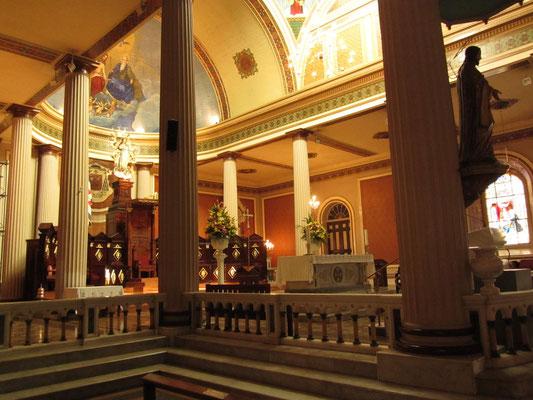 In der Kathedrale.