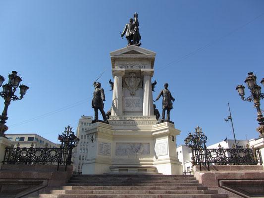Das Monumento a los Heroes de Iquique.