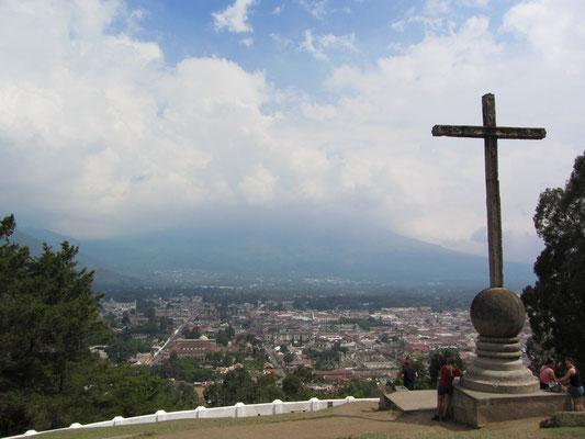 Cerro de la Cruz mit dem traumhaften Blick auf die Stadt.