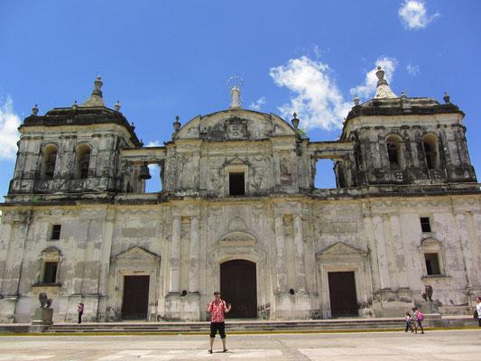 Die UNESCO-gelistete Kathedrale von Leon ist die größte Kirche Zentralamerikas.