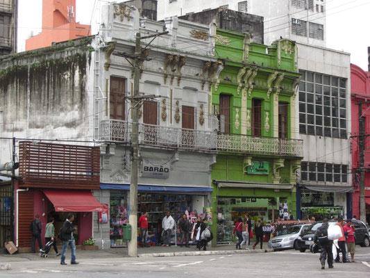 Das Viertel um den Mercado Central ist etwas schmuddeliger.