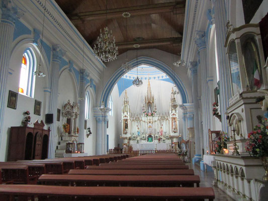 In der Kirche Santa Lucia.