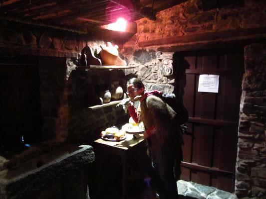In der Küche eines ehemaligen portugiesischen Wohnhauses.
