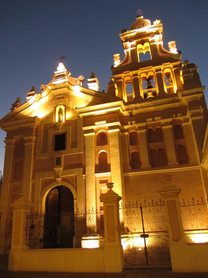 Das Kloster Santa Teresa ist heute auch ein Religionsmuseum.