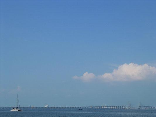 Die Penang-Brücke.