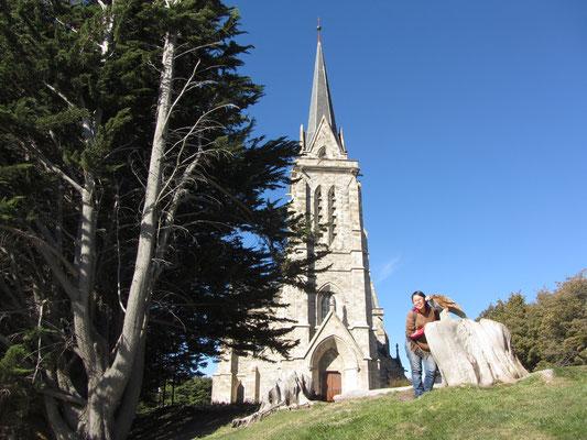 Die Kathedrale von Bariloche.
