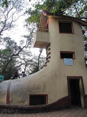 Kinderrutsche auf dem Malabar Hill.