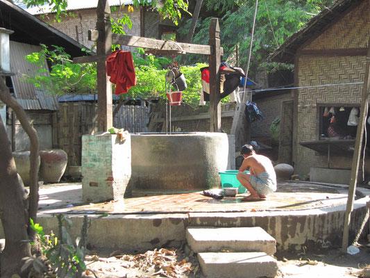 Brunnen in Amarapura.