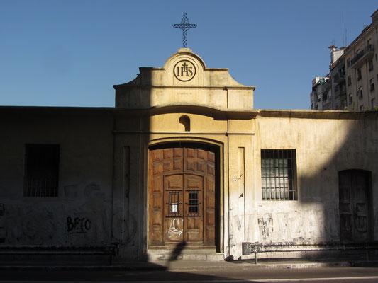 Ein altes Gebäude des Jesuitenordens.