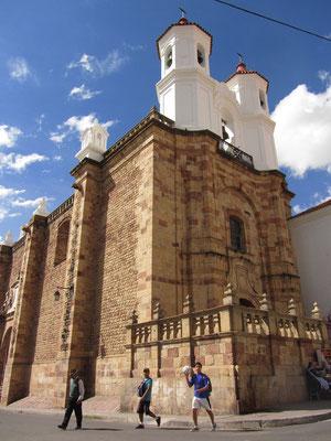 Eines ist klar. Sucres Altstadt ist in einem Topzustand.