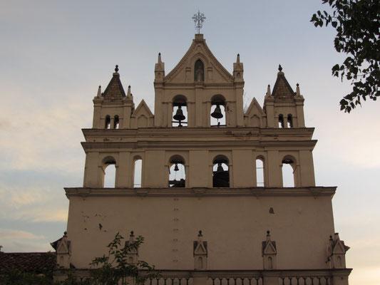 Die Kirche San Sebastian.