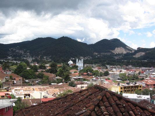 Blick vom Cerro de San Cristobal.